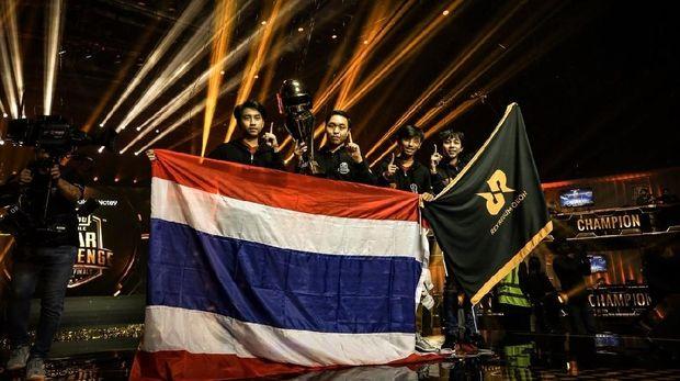 Tim RRQ Athena dari Thailand