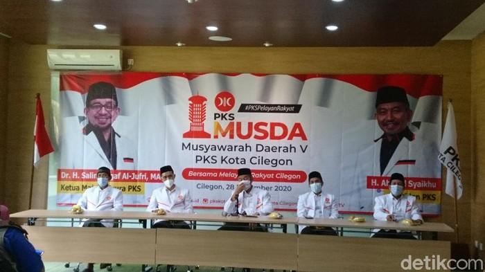 Amal Irfanuddin terpilih jadi Ketua DPD PKS Cilegon periode 2020-2025 dalam Musda V. (dok Istimewa)