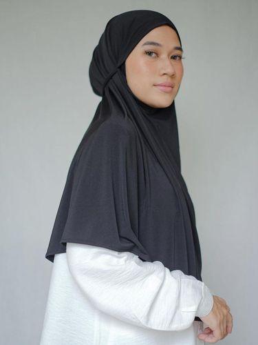 Bahan hijab jersey yang bisa juga dipakai untuk oleharaga.