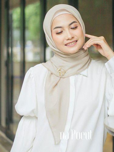 Bahan hijab paris Jepang.