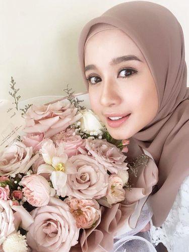 Bahan hijab pollycotton.