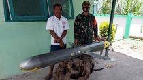 Penampakan Benda Berkamera Mirip Rudal yang Ditemukan di Laut Selayar