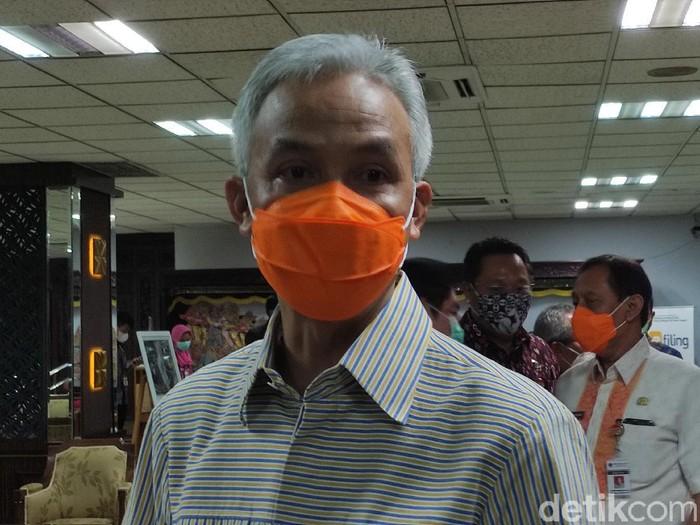 Gubernur Jawa Tengah, Ganjar Pranowo, Selasa (29/12/2020).