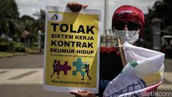 Buruh Bakal Demo di Depan MK Hari Ini, Rekayasa Lalin Situasional