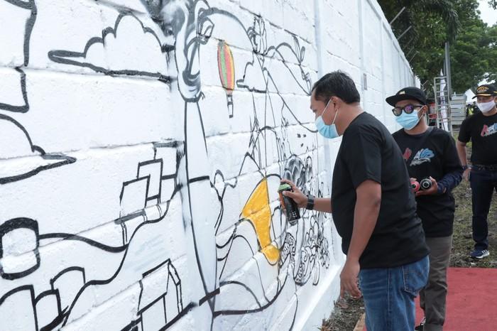 Lomba mural Pertamina