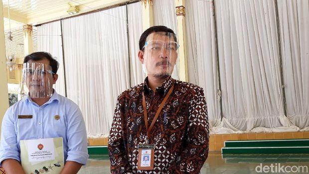 Paniradya Pati Keistimewan DIY Aris Eko Nugroho saat memberikan keterangan, Selasa (29/12/2020)