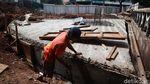 Penataan Kolong Jembatan Layang untuk Plaza Stasiun Tebet