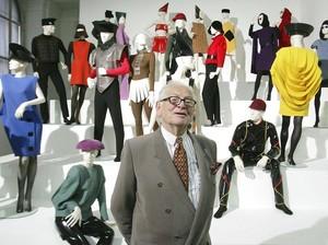 Desainer Pierre Cardin Meninggal Dunia di Usia 98 Tahun