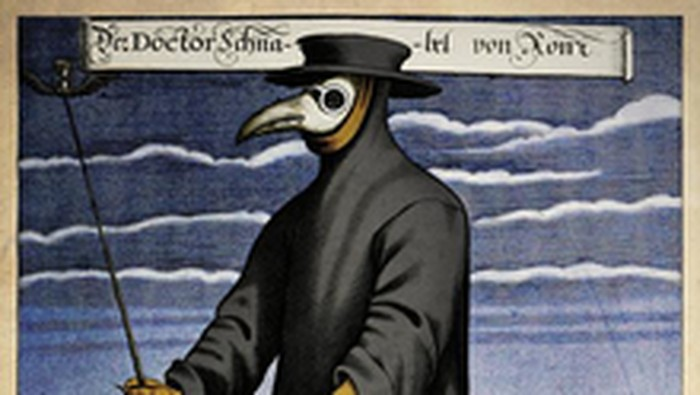 Dokter dan para ilmuwan pada era pandemi Black Death dipercaya memakai kostum yang mirip burung aneh. Mereka juga dijuluki sebagai malaikat maut.
