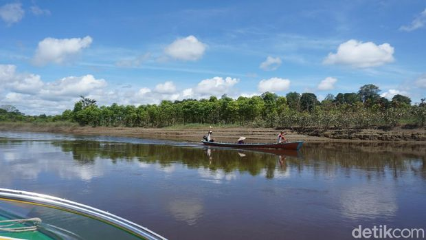 Sungai Kapuas di Kalbar