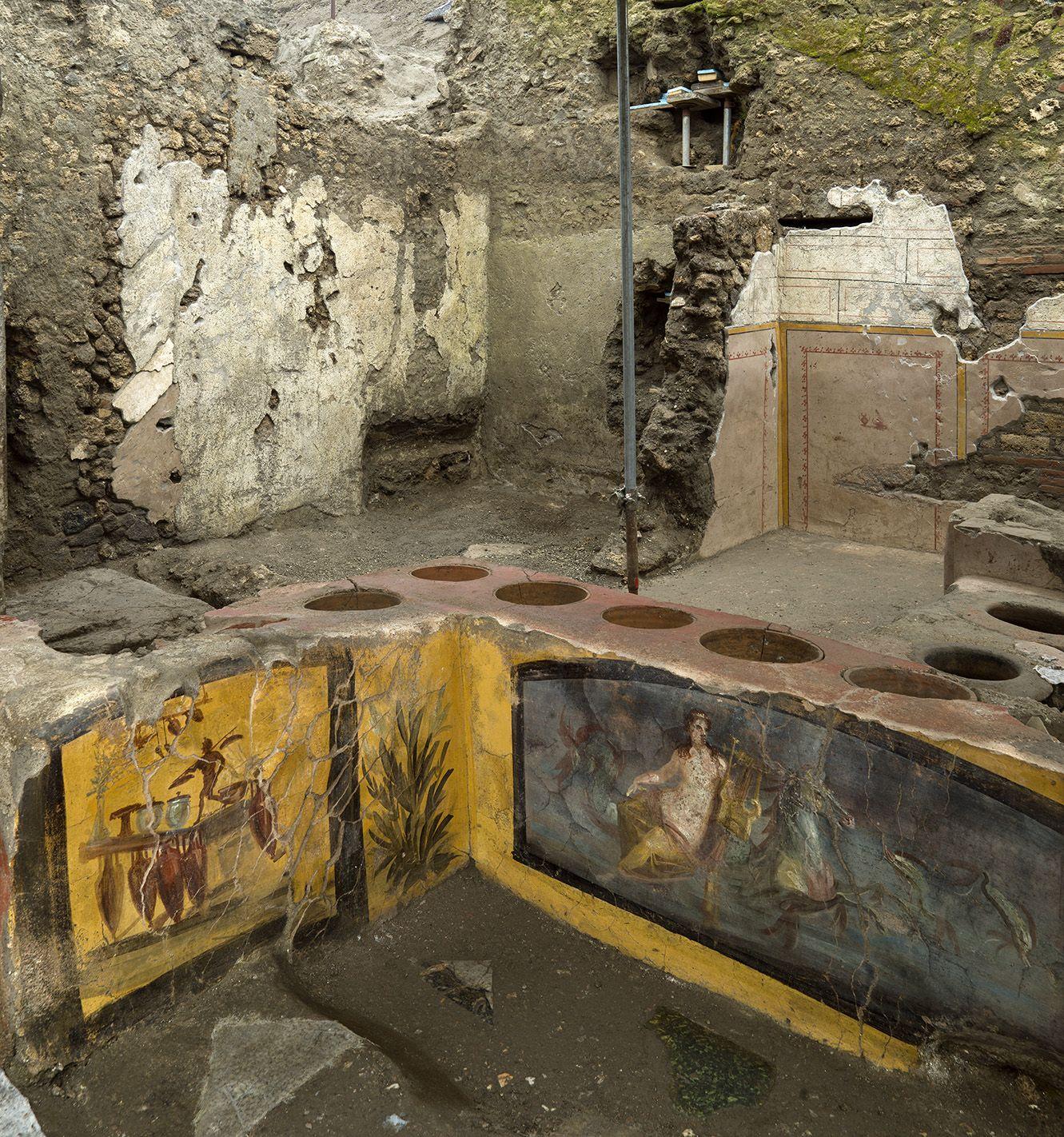 Arkeolog Temukan Kedai Jajanan Kaki Lima Berusia 2.000 Tahun