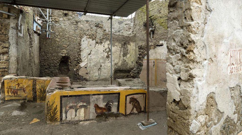Arkeolog Temukan Kedai Jajanan Berusia 2.000 Tahun, Menu Apa yang Dijual?
