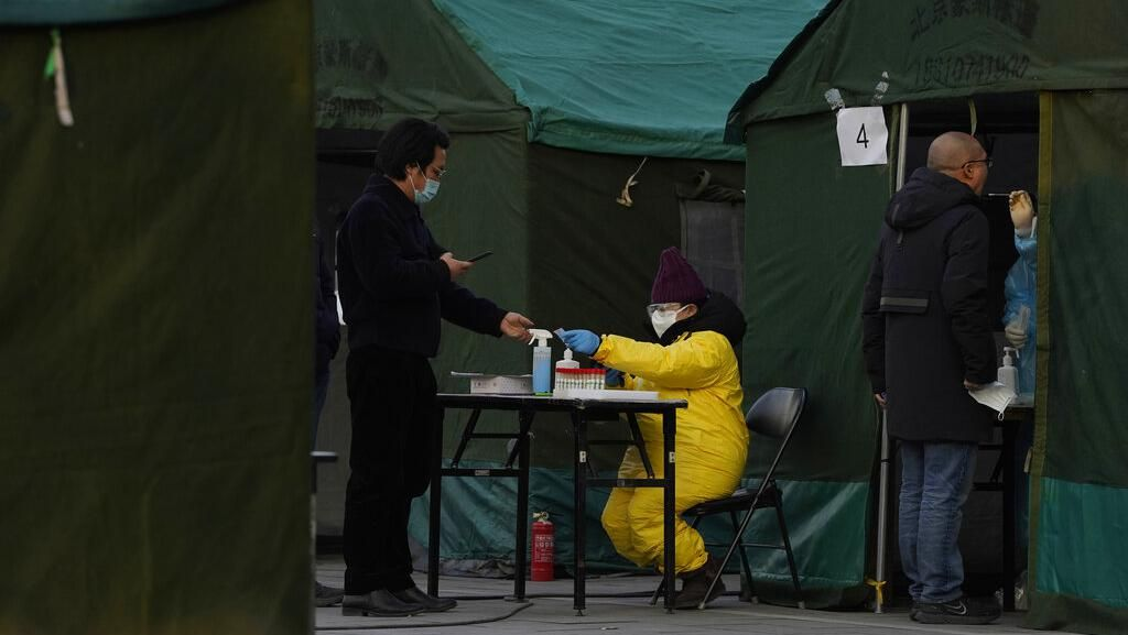 Corona Melonjak Lagi, China Bangun 3 Ribu Unit Karantina Baru