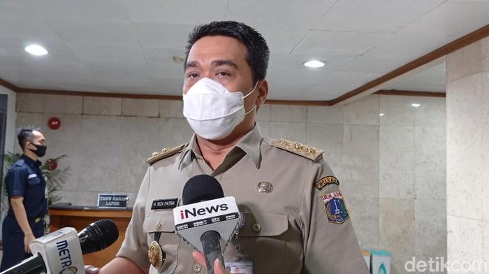 Wakil Gubernur (Wagub) DKI Jakarta Ahmad Riza Patria