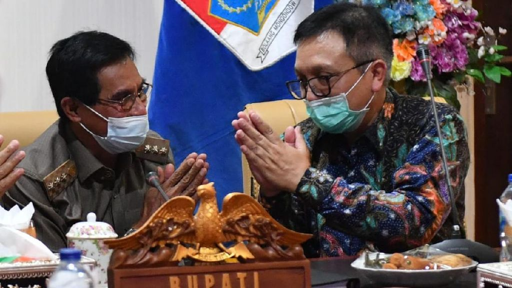 Sentil Banpres UMKM, Bupati Boltim Minta Maaf ke Jokowi & Menkop UKM