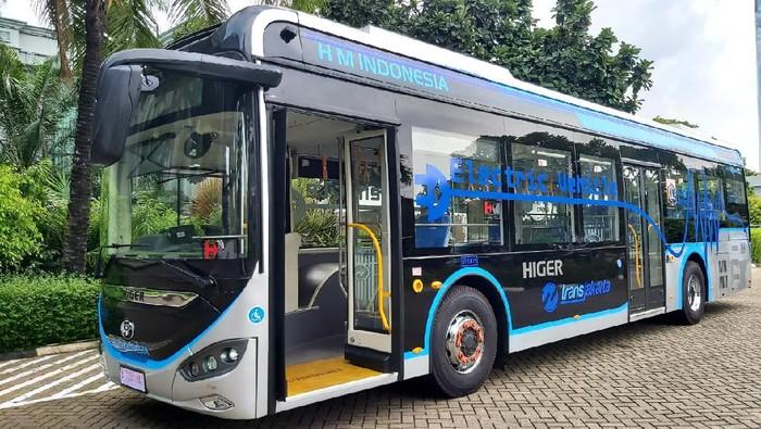 Bus listrik Higer