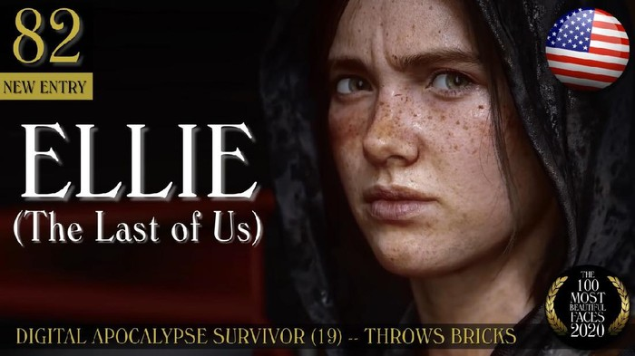 Masuk ke daftar perempuan tercantik sedunia, Ellie bukanlah manusia sungguhan.
