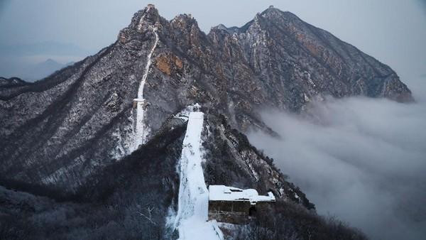 Dibangun di tahun 1500-an, sisi Tembok Besar China di Jiankou disebut telah terabaikan sejak seratus tahun silam.