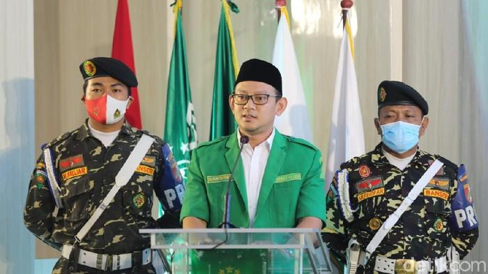 Ketua GP Ansor Jatim Syafiq Syauqi