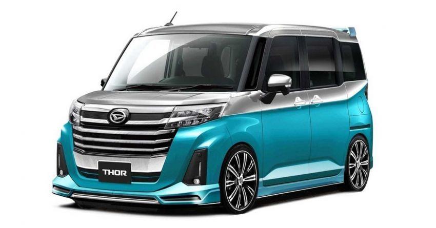 Mobil Modifikasi Daihatsu di Tokyo Auto Salon