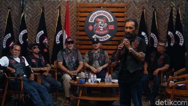 Pegi Diar Kembali Terpilih Sebagai El Presidente Bikers Brotherhood 1% MC Indonesia