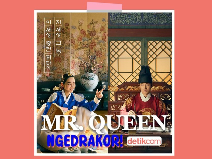 podcast ngedrakor episode Mr. Queen