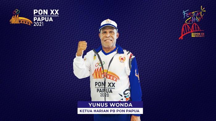Ketua Harian Pengurus Besar Pekan Olahraga Nasional, Yunas Wonda.