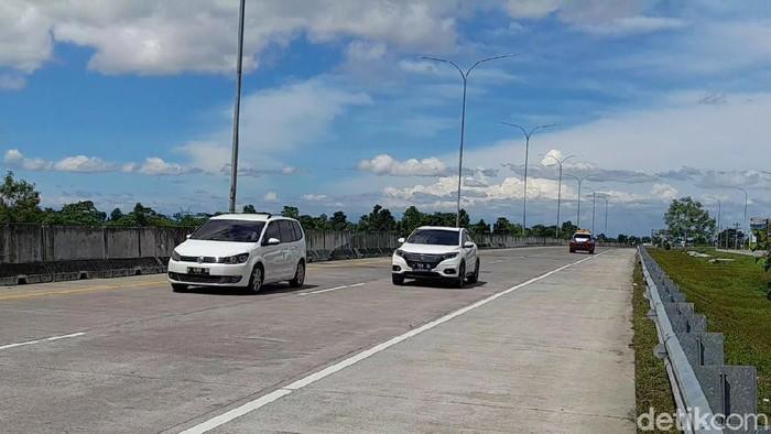 Suasana ruas tol Pejagan Pemalang Tol Road (PPTR), Brebes, Rabu (30/12/2020).