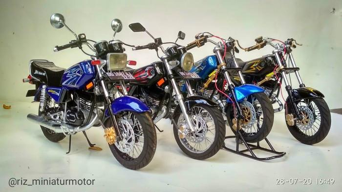 Bisnis miniatur motor RX King