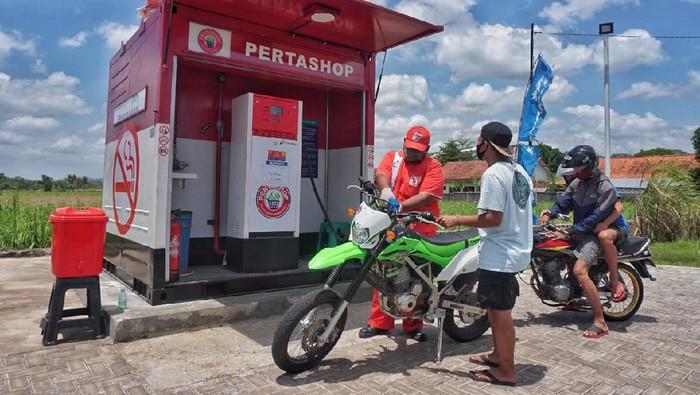 Hingga akhir tahun 2020, telah tersebar 106 unit Pertashop di 28 kabupaten di Jawa Tengah dan DI Yogyakarta.