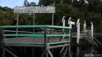 Sebagai informasi, Pulau Sepandan baru saja selesai di renovasi, pada awal tahun 2020 lalu. Sayang, pandemi Corona memaksa kawasan wisata unggulan Kapuas Hulu ini harus kembali ditutup guna meminimalisir penyebaran COVID-19.