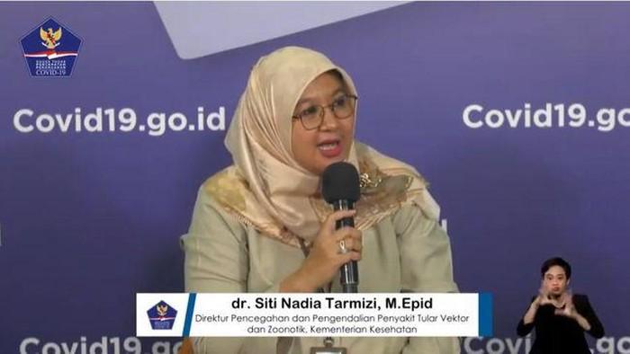 Jubir Vaksin COVID-19 Kemenkes, dr Siti Nadia Tarmizi