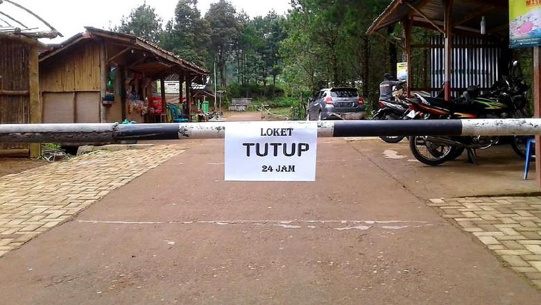 Obyek wisata Gunung Telomoyo via Sepakung, Banyubiru, Kabupaten Semarang, ditutup,