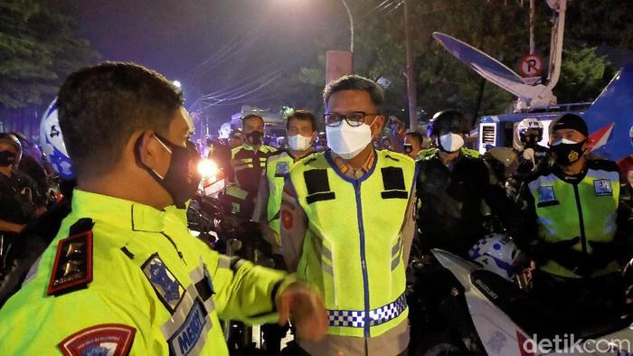 Patroli di Makassar (Ibnu/detikcom)