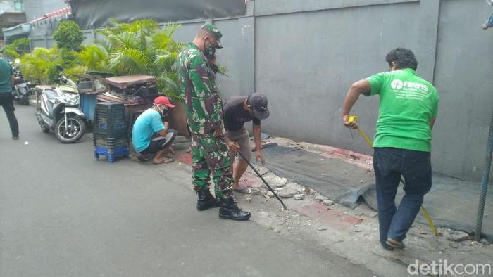 Pos keamanan akan dibangun di dekat eks markas FPI di Petamburan, Jakarta.
