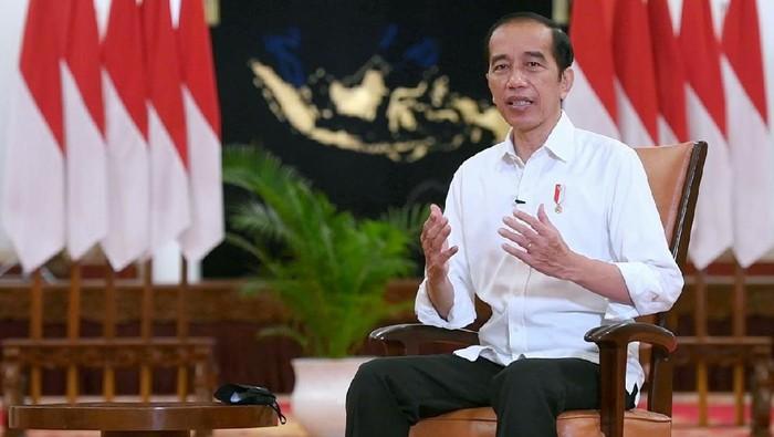 Presiden Jokowi menyampaikan harapannya untuk tahun 2021.