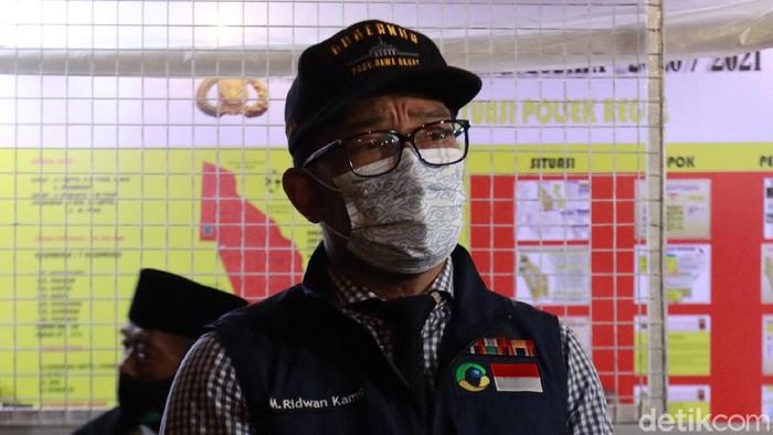 Menjelang pergantian tahun 2021, Gubernur Jawa Barat Ridwan Kamil melakukan inspeksi di Ibukota Jawa Barat, Kota Bandung.