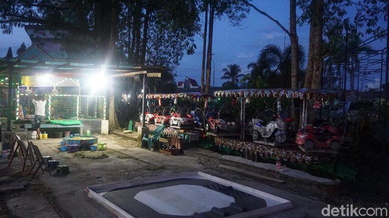 Taman Alun Putussibau, sepi di kala pandemi