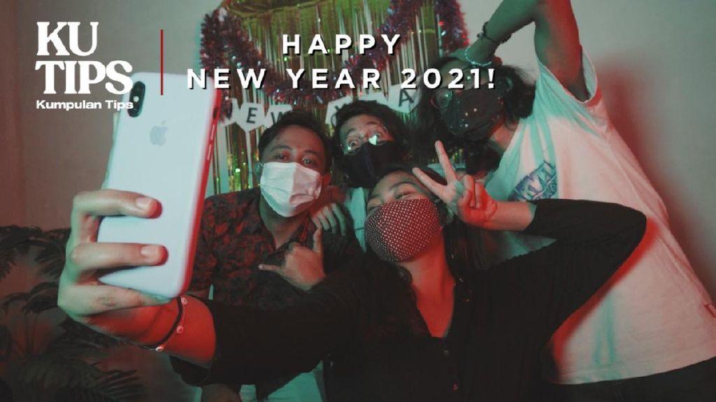 Tips Seru Rayakan Tahun Baru di Rumah Saja