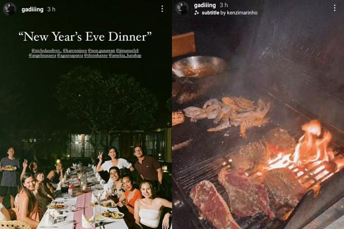 5 Artis Pesta BBQ di Malam Tahun Baru