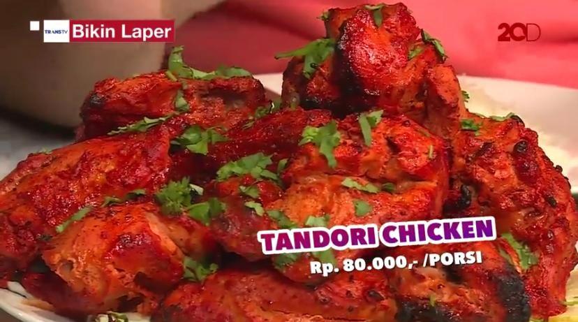 Bikin Laper! Gurihnya Tandori Chicken dan Fish Malabar Curry