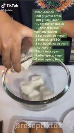 Daging Sapi KW yang Terbuat dari Tahu dan Japur ala Netizen TikTok