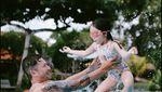 Momen Bahagia Gading Marten Rayakan Tahun Baru Bareng Gempi