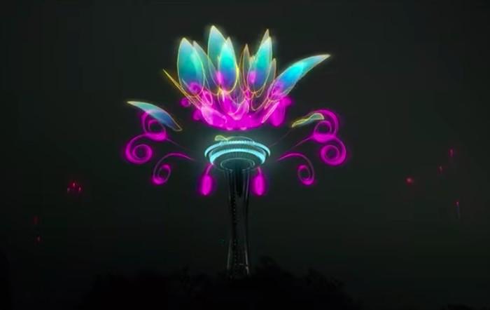 kembang api spektakuler