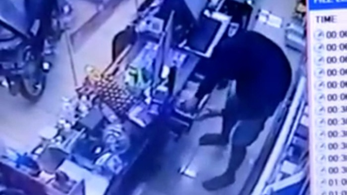 Pencuri Satroni Minimarket di Rancaekek Bandung