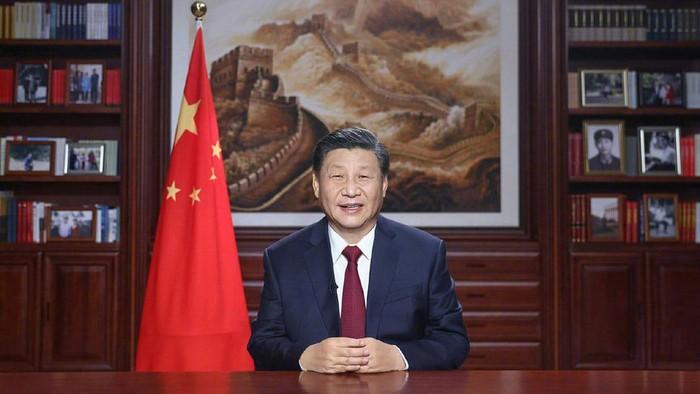 Presiden Tiongkok Xi Jinping Sampaikan Pesan Tahun Baru 2021