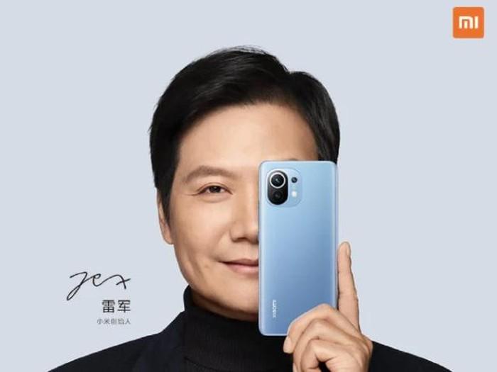 CEO Xiaomi Lei Jun jadi brand ambassador Mi 11