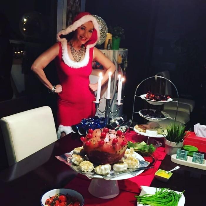 Kiki Fatmala rayakan Natal