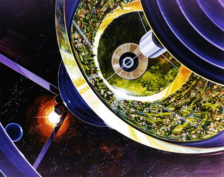 Prediksi kehidupan luar angkasa dari tahun 1970-an