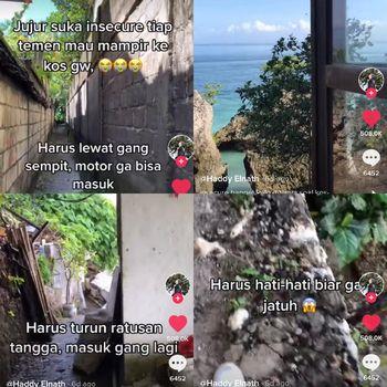 Haddy Elnath yang mempunyai kostan mewah di Bali
